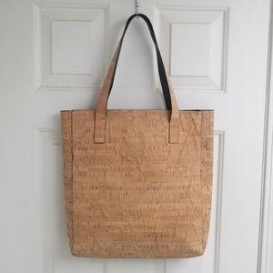 Handbags - LARGE Cork Tote Bag Shopper Purse